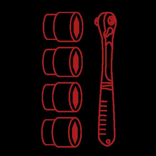 Steckschlüsselsortimente